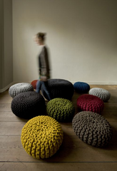 Urchin Pouf,Christien Meindertsma