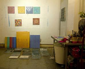 Heather Brown studio detail, Heather Brown