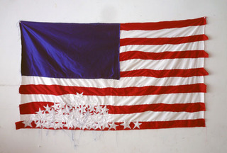 Deconstructed Flag #1 (Fallen Stars)  ,Brian Kenny
