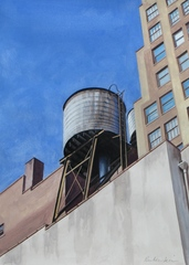 Water Tower IV,Ephraim Rubenstein