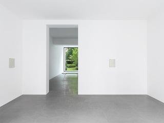 Installation views , Jacob Kassay