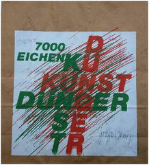 Signed editioned paper bag, Joseph Beuys