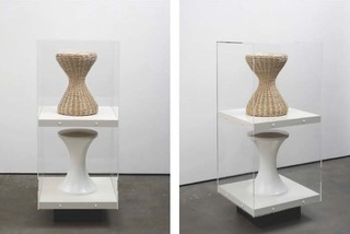 Stool Series (Saint Esprit Stool and Rustic Cedar Log Stool), Matthew Darbyshire