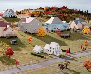Landscape with Houses (Dutchess County, NY) #8,James Casebere