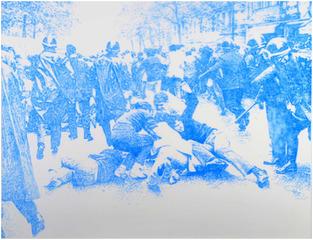 """Light Blue Riot"" , Frank Selby"