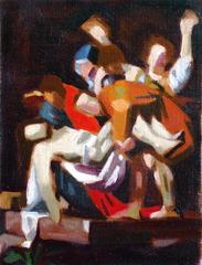 Study after Caravaggio , Satoshi Okada