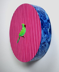 Green Plastic Bird, Sara Sosnowy