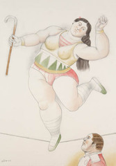 On the Rope, Fernando Botero, Fernando
