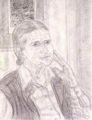 Doris Lessing, Leonard McComb RA