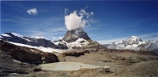 #03001, Trockener Steg (Matterhorn), from the series Another Mountain ,Naoya Hatakeyama