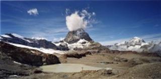#03001, Trockener Steg (Matterhorn), from the series Another Mountain , Naoya Hatakeyama