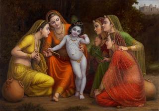 Vatsalya (Adoring Krishna), Khetanchi