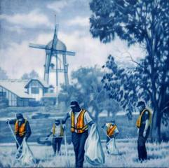 Landscape with Safety Vests, Gregory Martin