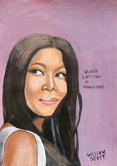 Untitled (Queen Latifah), William Scott