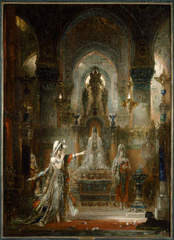 Salome Dancing before Herod , Gustave Moreau