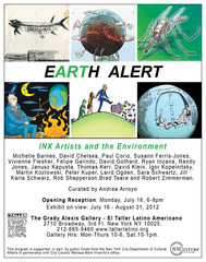 Earth Alert - INX Artists and the Environment.,