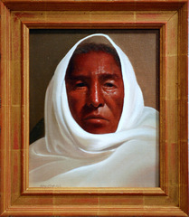 Portrait of White Eagle,Roseta Santiago