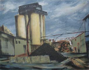 """""""Slate Yard"""" , Bea Mandelman"""