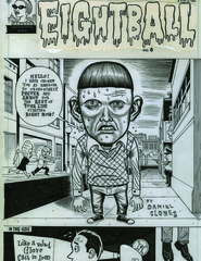 Eightball 8 cover,Daniel Clowes