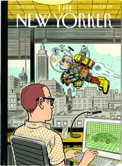 New Yorker Cover1, Daniel Clowes