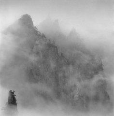 Huangshan Mountains,Anhui, China, Study 1, Michael Kenna