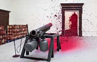 SHOOTING INTO THE CORNER, Anish Kapoor