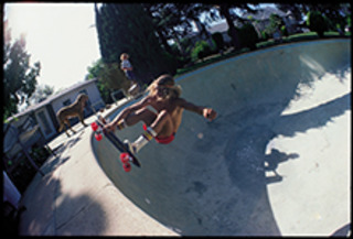 Tony Alva at the Original Dog Bowl, Glen E. Friedman