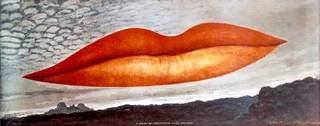 A l'heure de l'observatoire—les amoureux (Observatory Time—The Lovers), Man Ray