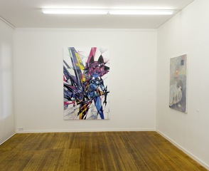 Installation view of ob, JNTHED, Haruka Makita,