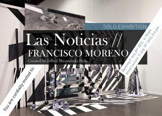 Exhibition Flyer, Francisco Moreno