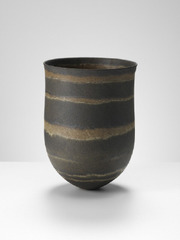 Dark olive, umber rings, Jennifer Lee