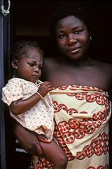 Tending Baby, Janet Milhomme