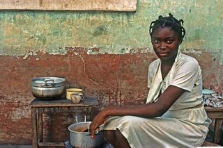 Ghanaian Girl, Janet Milhomme