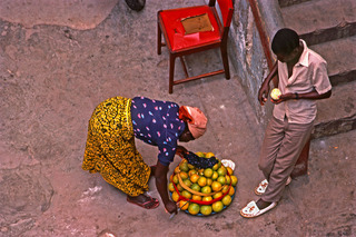 Orange Seller, Janet Milhomme