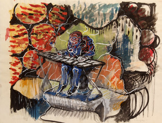 Xylophone Player, Seymour Rosofsky