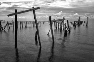 Dilapidated Pier, Mark Comon