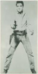Single Elvis, Andy Warhol