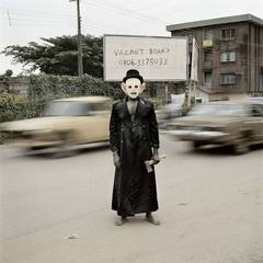 Escort Kama, Enugu. From the series Nollywood, Pieter Hugo