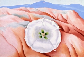 Datura and Pedernal,Georgia O\'Keeffe