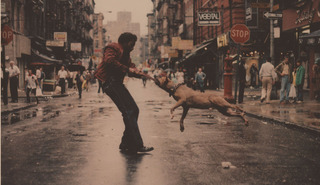 Man and Dog,Jamel Shabazz