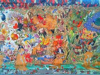 Donde termina el arcoiris (Detail), Maria Berrio