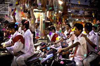 Ride Through Town/India, Lawrence Manning