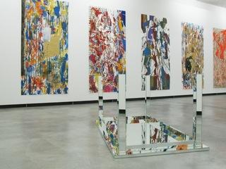 Ausstellungsansicht / Installation view (Foto: Peter Rosemann), Arturo Herrera (Venezuelan, 1959), Carla Arocha, Stéphane Schraenen, Caraota von Moules