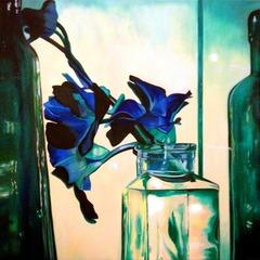 Vintage Blue , Shari Vogt