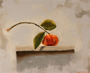 Tangerine with Leaves , Michael Haley