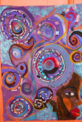 Tribute  To Faith Ringgold , Dindga McCannon