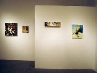 2 person show - Installation View, Jessica Robbins, Elana Kundell