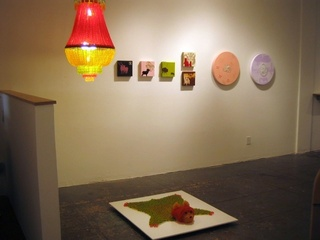 2 person show - Installation View of Chou\'s work, Ya Ya CHou and Katy Bowen