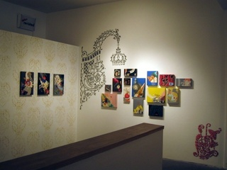 solo show installation view, Pixnit