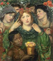 The Beloved (\'The Bride\')  , Dante Gabriel Rossetti